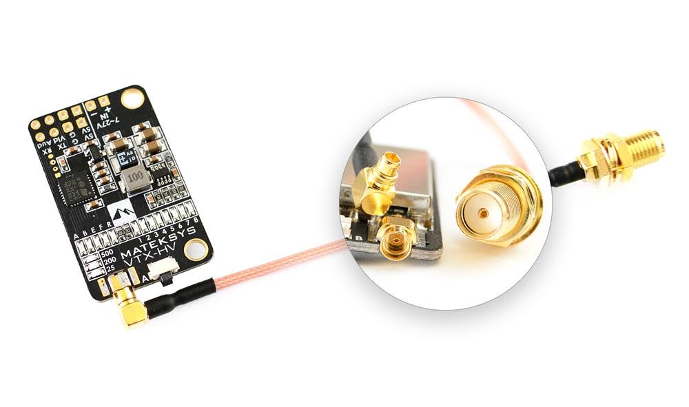 Émetteur vidéo VTX-HV 5.8GHz - Matek