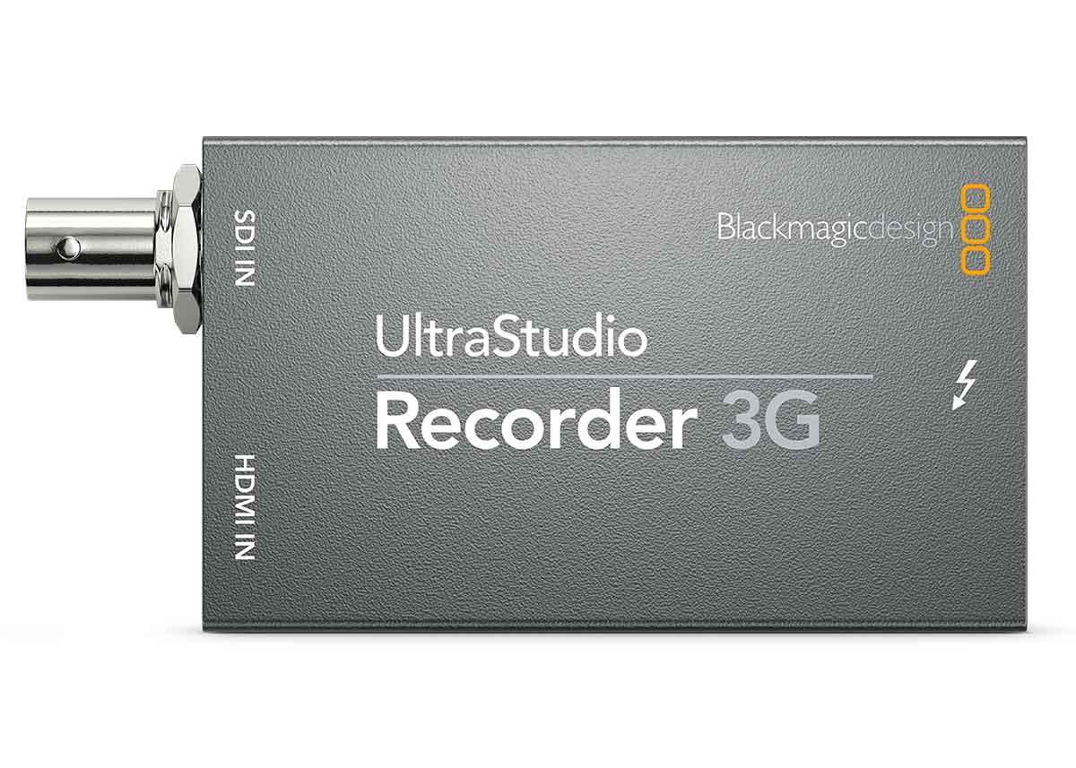 Enregistreur UltraStudio Recorder 3G - Blackmagic