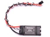 ESC 40A 2-6S Opto avec son câble