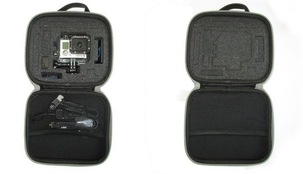 Etui de rangement pour caméra GoPro Hero 3