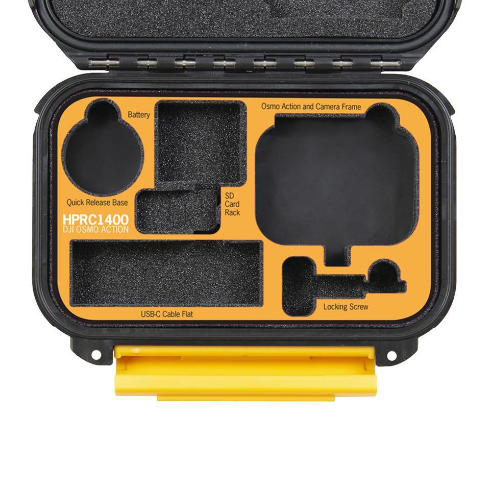 Étui rigide étanche HPRC1400 pour DJI Osmo Action - PolarPro