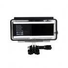 Extension de batterie STS pour GoPro 5 et 6 + caisson - vu de dos
