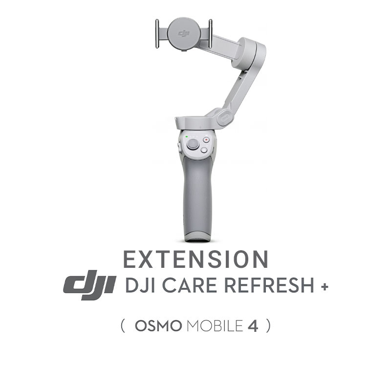Extension DJI Care Refresh + pour Osmo Mobile 4 (renouvellement 1 an)