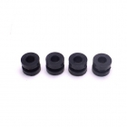 FA-064 4 PCS M2 Rubber Shock Absorber Ball
