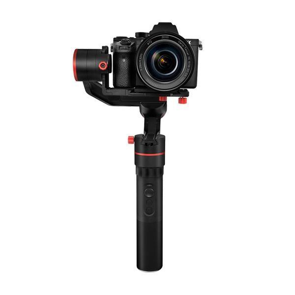 Stabilisateur Feiyu a1000 avec appareil photo DSLR - vue de face