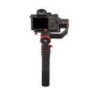 Stabilisateur Feiyu a1000 avec appareil photo DSLR - vue de derrière