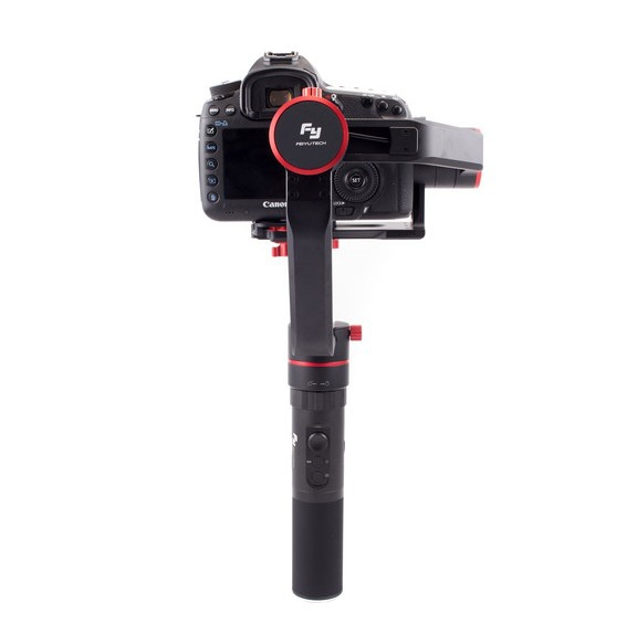 Stabilisateur Feiyu a2000 pour appareils photo et caméras - vue de dos