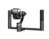 Stabilisateur Feiyu G5 GS avec caméra Sony sur handle bar