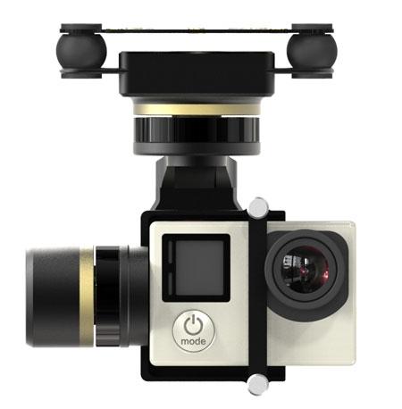 Nacelle Feiyu Mini 3D PRO stabilisée pour votre caméra GoPro Hero 3/3+ et Hero 4.