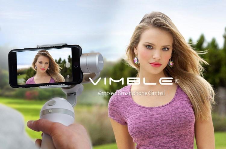 Feiyu Vimbal C pour smartphones en action