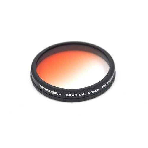 Ce filtre gradué orange maximise l\'effet couché de soleil sur les photos et vidéos prises avec l\'Inspire 1 et l\'Osmo de DJI.