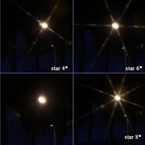 Mise en situation des filtres Star pour Zenmuse X5/XR