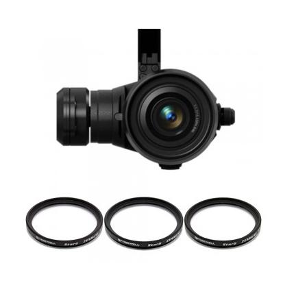 Pack 3 filtres Star pour DJI Zenmuse X5 & X5R
