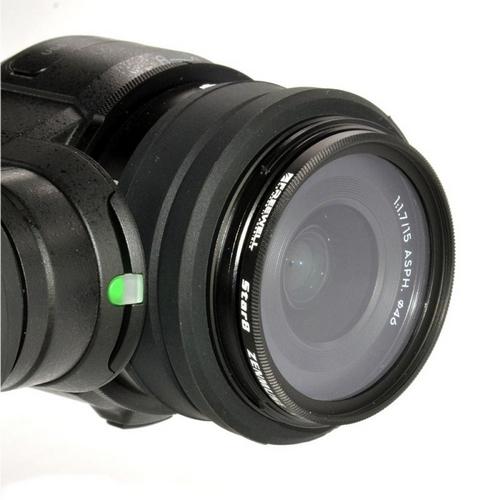 Filtre Star monté sur la Zenmuse X5/X5R