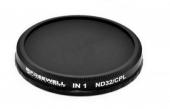 Filtre pour Osmo CPL-ND32 (2 en 1) vue de face