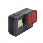 Filtre de plongée rouge installée sur une GoPro Hero 5 Black