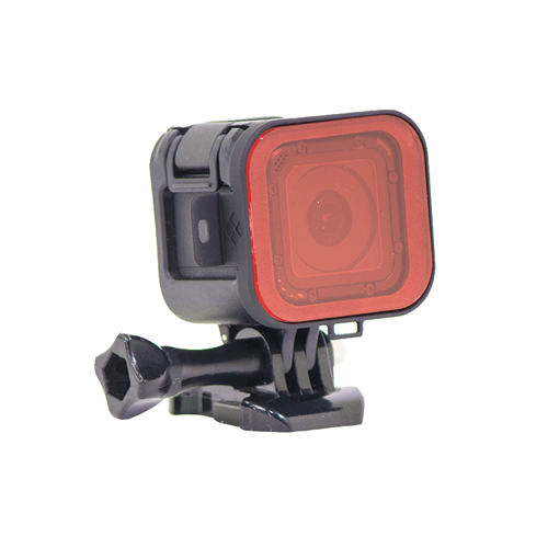 Filtre snorkel rouge Hero5 & Hero Session Polar Pro