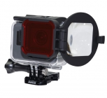Filtre Switchblade pour Hero 5 - PolarPro - en position macro
