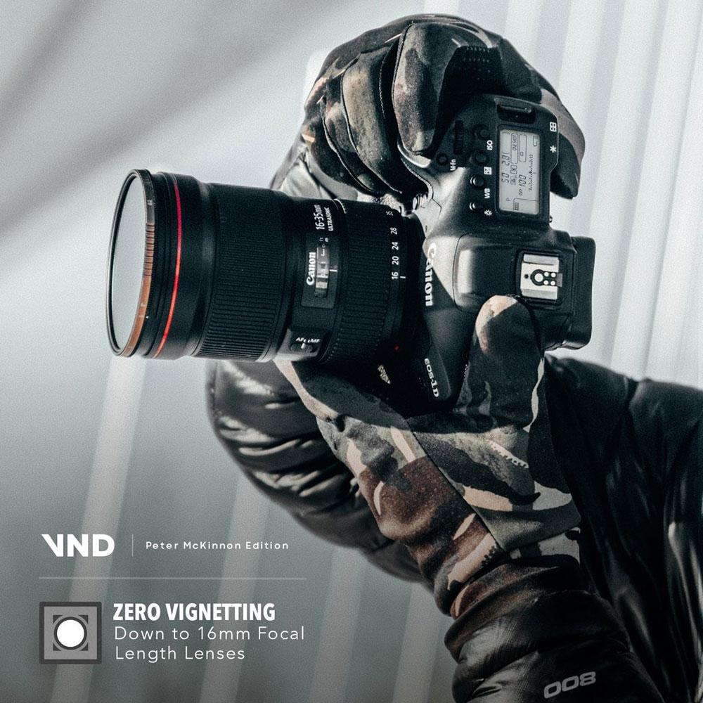 Filtre variable ND 64-512 77 mm - Peter McKinnon Edition - Polar Pro