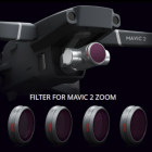 Filtres ND8 16 32 64 Professional HD pour DJI Mavic 2 Zoom - PGY
