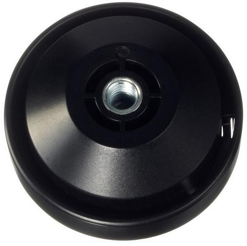 """Adaptateur pour trépied 360fly avec pas de vis 1/4\"""" -  vue de haut"""