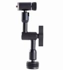 Fixation articulée pour triple ventouse stabilisateur steacycam gimbal DJI Osmo