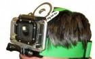 Fixation bandeau couleur pour caméra GoPro