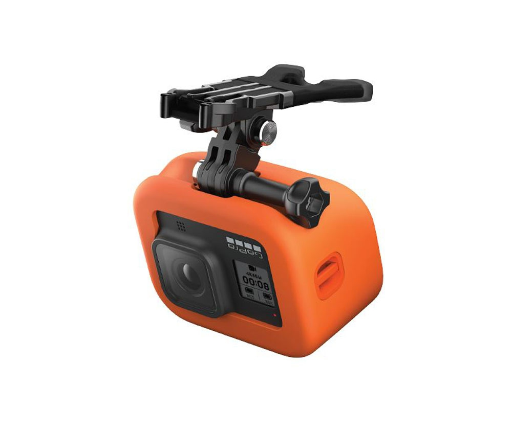 Fixation Bite Mount + Floaty pour GoPro Hero 8 Black