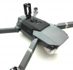 Fixation caméra 360 installée sur le DJI Mavic Pro