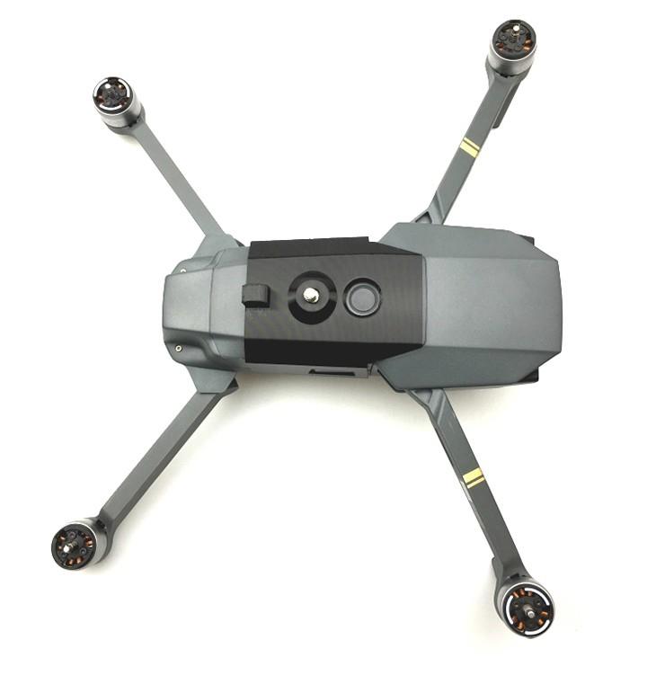Fixation caméra 360 pour DJI Mavic Pro - vue du dessus