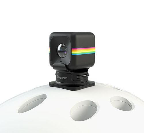 Fixation casque Polaroid Cube