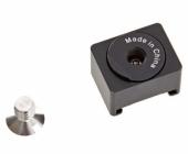 Fixation Cold Shoe pour stabilisateur gimbal steadycam DJI Osmo