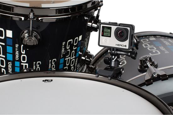 Découvrez la fixation The Jam pour GoPro à fixer sur votre batterie