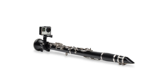 Découvrez la fixation GoPro The Jam à fixer sur votre clarinette