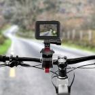 Fixation guidon réglable pour action cams