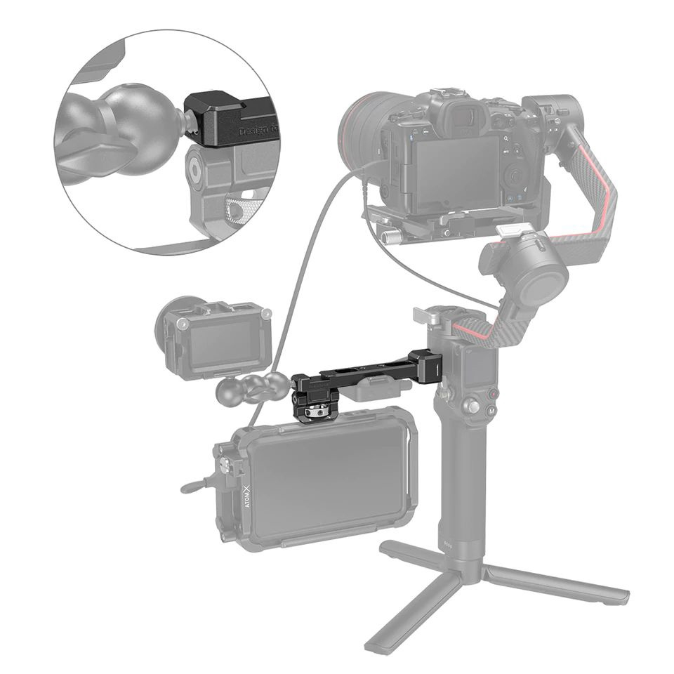 Fixation moniteur 3026 pour DJI RS 2 et DJI RSC 2 - SmallRig
