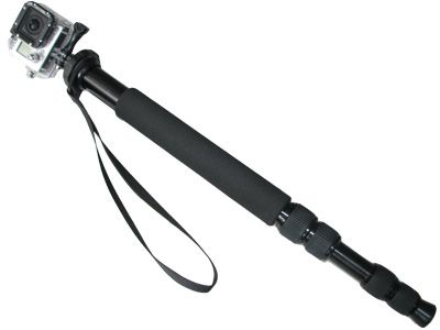 Fixation Monopod dépliable 130cm pour GoPro