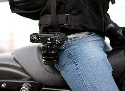 Fixation PeakDesign Capture camera clip v2 ceinture