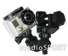 Fixation pince pour caméra GoPro
