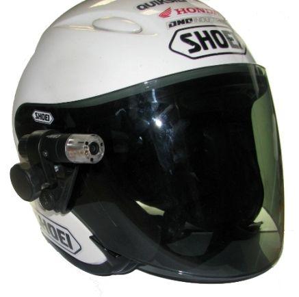 Fixation pour visière de casque (20-23 mm)
