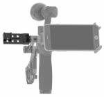 Couplez la fixation universelle avec d\'autres accessoires DJI Osmo comme la fixation tube ou encore le support smartphone