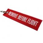 Flamme porte-clé REMOVE BEFORE FLIGHT