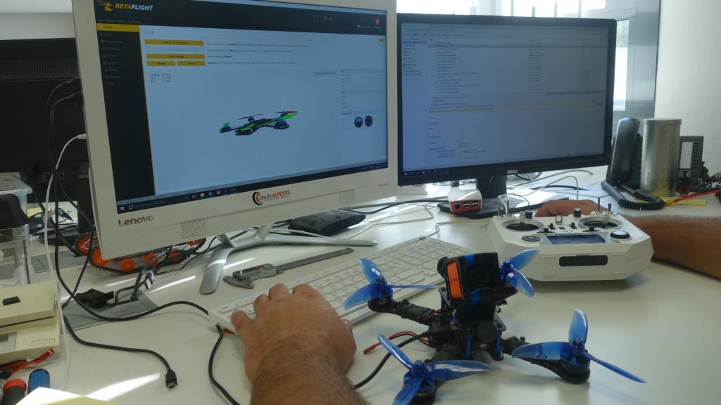 Forfait paramétrage radio et Racer ARF réglage Betaflight