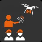 Formation pratique au pilotage de drone industriel automatisé
