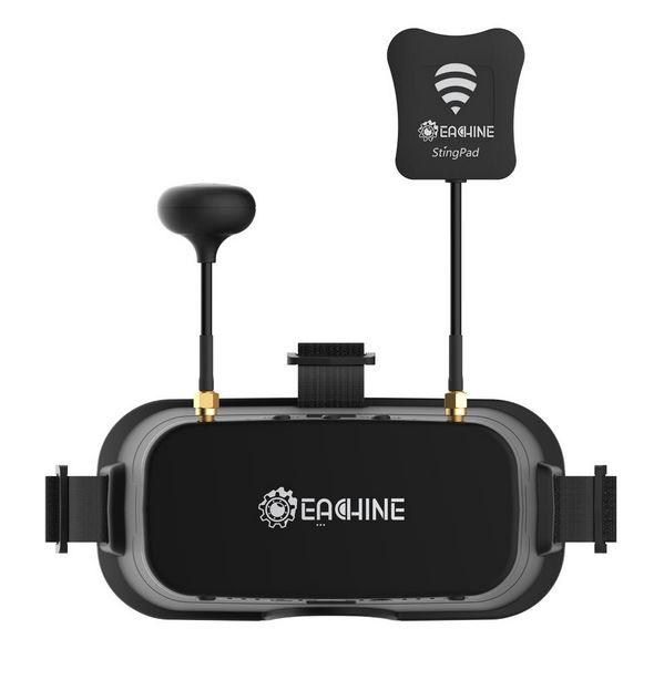 FPV Googles EV800DM 5.8GHz 40CH avec DVR - Eachine