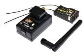 FrSky DFT 2 4Ghz v8fr II Combo Pack for FUTABA w Telemetry Module V8FR II RX