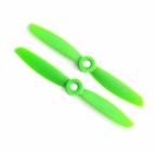2 hélices GemFan 4x4.5 anti-horaires - Vert