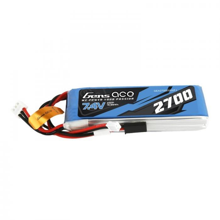 Gens ace 2700mAh 7.4V 2S1P Transmitter Pack