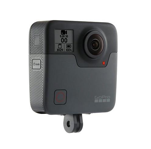 Caméra embarquée GoPro Fusion 360° - vue de biais