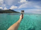 GoPro Fusion 360 sur poignée